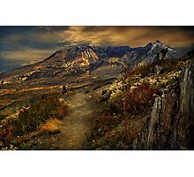 Mt St Helens from Windy Ridge Photographic Print