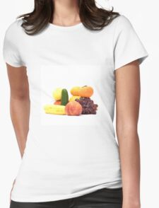 Fruit and Vegetables Ansamble  Womens Fitted T-Shirt