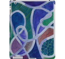 Curved Paths iPad Case/Skin