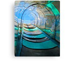 Mirror, Mirror Carny Slide Canvas Print