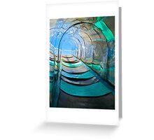 Mirror, Mirror Carny Slide Greeting Card