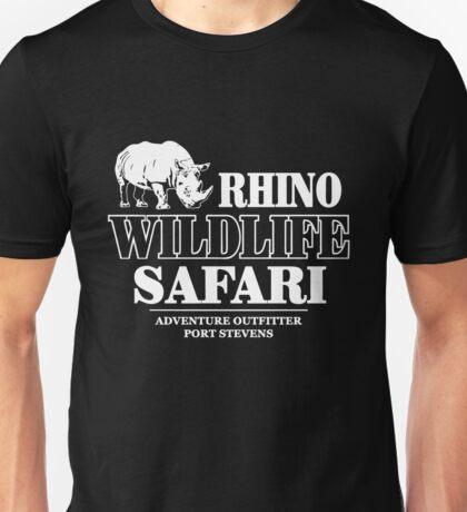Rhino Wildlife Safari Unisex T-Shirt