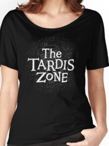 THE TARDIS ZONE Women's Relaxed Fit T-Shirt
