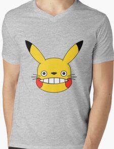 Totokachu Mens V-Neck T-Shirt