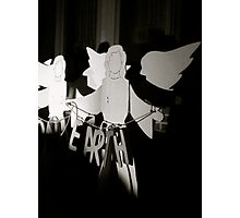 Peace in the Dark Photographic Print