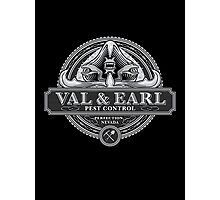 Val & Earl, Pest Control Photographic Print