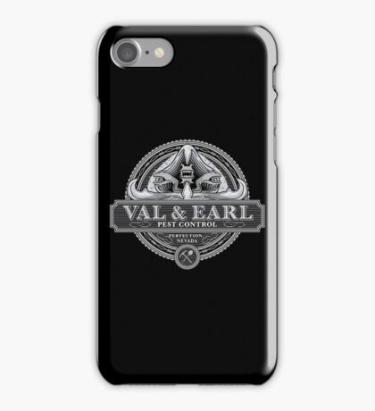 Val & Earl, Pest Control iPhone Case/Skin