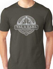 Val & Earl, Pest Control Unisex T-Shirt