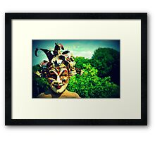 Welcome to the other side... Framed Print
