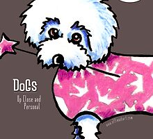 Dogs Up Close and Personal Calendar by offleashart