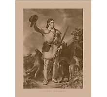 Colonel Davy Crockett Photographic Print