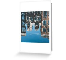 Underwater Architecture Greeting Card