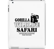 Gorilla Wildlife Safari iPad Case/Skin