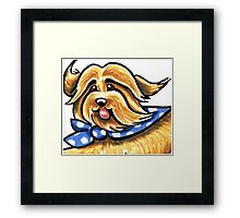 More Bounce to the Ounce Framed Print