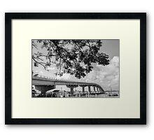 The Bridge at Paradise Island in The Bahamas Framed Print