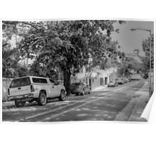 Parliament Street in Nassau, The Bahamas Poster