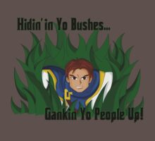 Garen Gank - Hidin' in Yo Bushes by acosaval