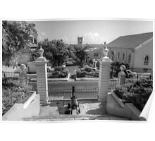 View of Downtown Nassau from Government House - The Bahamas Poster