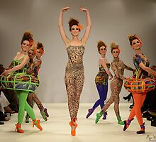Carlotta Actis Barone Collection, shown  at LFW SS13 by MarcW