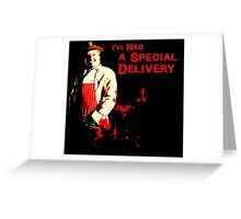 The League of Gentlemen - Hilary Briss Greeting Card