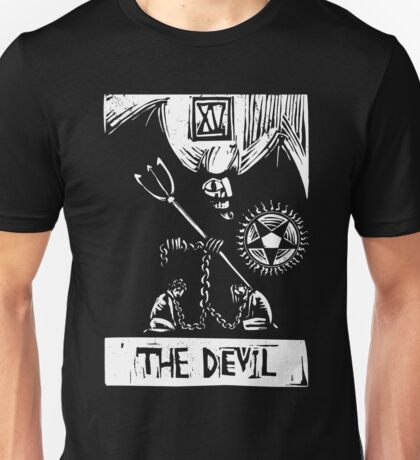 The Devil  - Tarot Cards - Major Arcana Unisex T-Shirt