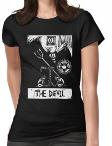 The Devil  - Tarot Cards - Major Arcana Womens Fitted T-Shirt