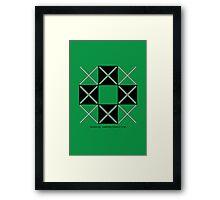 Design 222 Framed Print