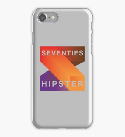 Seventies Hipster  iPhone Case/Skin