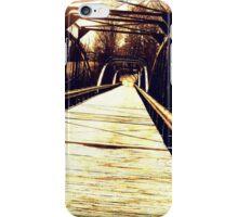 Rickety Bridge  iPhone Case/Skin