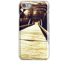 Rickety Bridge  iPhone Case/Skin
