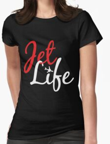 Jet Life Clothing Womens Fitted T-Shirt