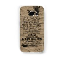 My Mind Rebels Samsung Galaxy Case/Skin