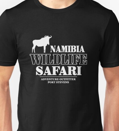 Wildebeest Wildlife Safari Unisex T-Shirt