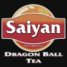 Saiyan Dragon Ball Tea by gorillamask