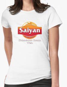 Saiyan Dragon Ball Tea Womens Fitted T-Shirt