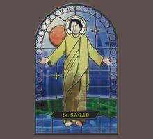 Saint Carl Sagan by zoidberg69