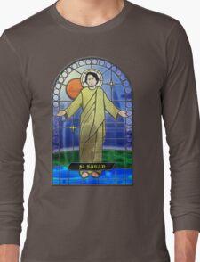 Saint Carl Sagan Long Sleeve T-Shirt