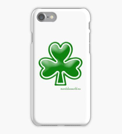 Celtic Shamrock n1 Green iPhone Case/Skin