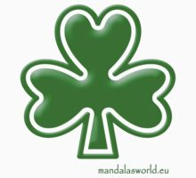 Celtic Shamrock n1 Green by Mandala's World