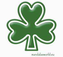Celtic Shamrock n1 Green One Piece - Long Sleeve