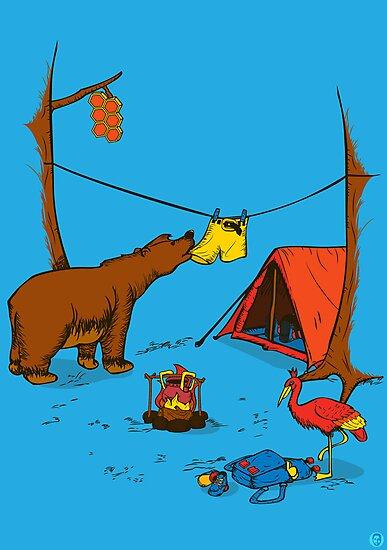 Bear and Bird by Paul Robinson