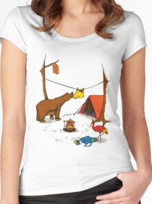 Bear and Bird Women's Fitted Scoop T-Shirt