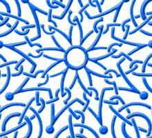 Celtic Knot n3 Blue Sticker