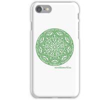 Celtic Knot n3 Green iPhone Case/Skin