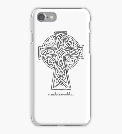 Celtic Cross n5 Dark iPhone Case/Skin