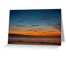 Mentone Beach Greeting Card
