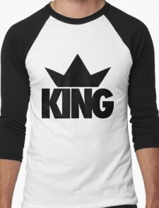 King Crown  Men's Baseball ¾ T-Shirt