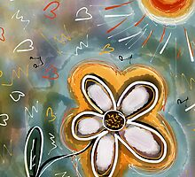 FLOWER FUN 3  by GUADALUPE  DIVINA