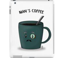 Man´s Coffee Mug iPad Case/Skin