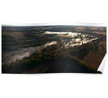 The Grand River.. Elora Ontario, Canada Poster